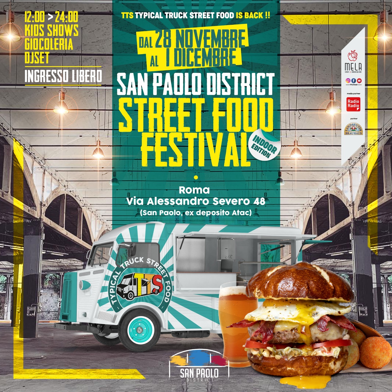 San Paolo District - Festival Street Food 2019