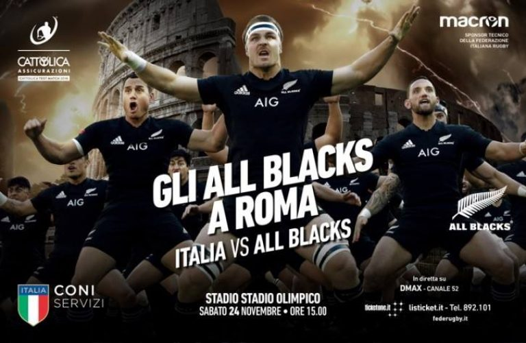 Gli All Blacks a Roma